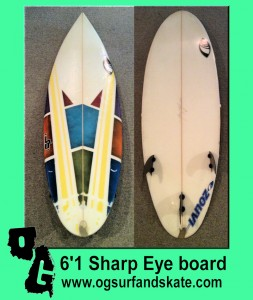 6'1 Sharp Eye Board