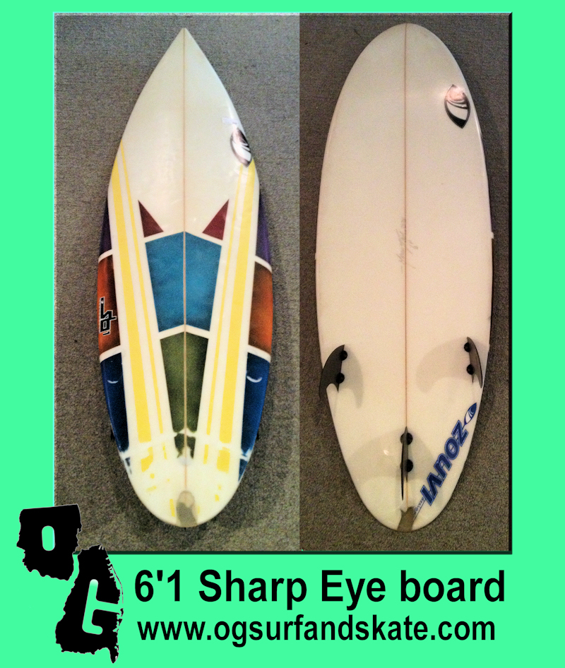 6'1 Sharp Eye Board